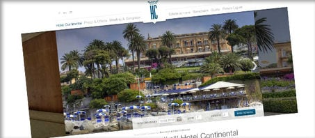Website & SEA - Hotel Continental in Ligurien